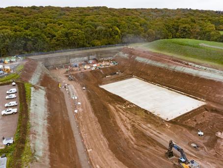 HS2 reveals images of giant Midlands dig