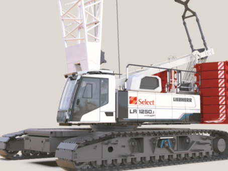 Select Plant electric crane ready to start on site