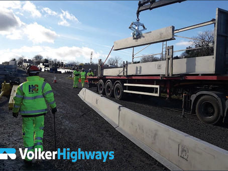 Volker Highways Innovates to keep workers safe in Road Closure