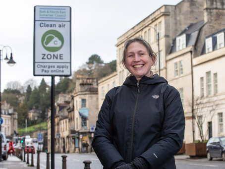 Vehicle charging scheme to cut air pollution launches in Bath