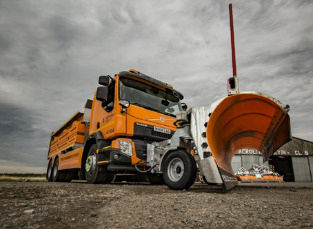 New Highways England gritters take to the road