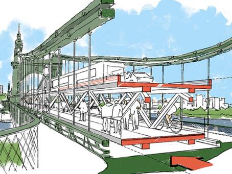 Double-decker temporary fix for Hammersmith Bridge