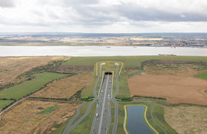 Highways England seeks partners to build £1.9 billion Lower Thames Crossing roads