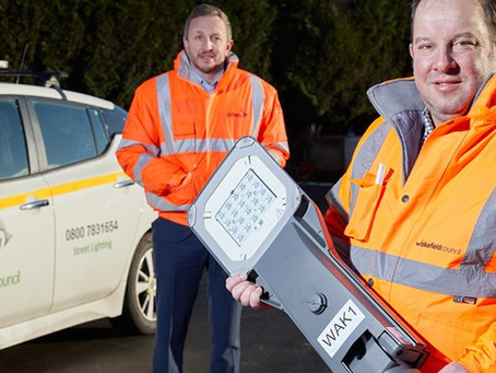 Amey secures Wakefield street lighting upgrade