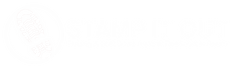 White Stamp It Out Logo