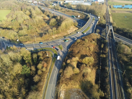Traffic bulletin: Overnight A533 bridge closures for replacement preparations