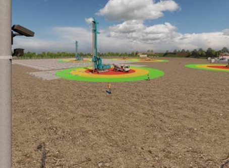 Winvic trials new AI site safety zone system