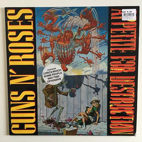 Guns N' Roses 'Appetite For Destruction'