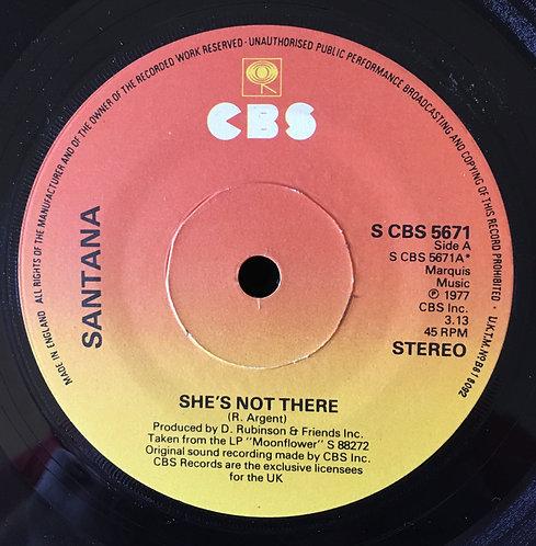 Santana 'She's Not There'