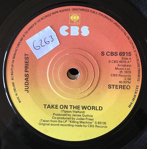 Judas Priest. 'Take On The World'