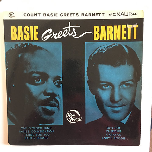 Count Basie/Charlie Barnett 'Basie Greets Barnett'