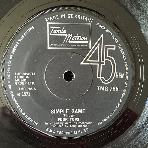 Four Tops 'Simple Game'