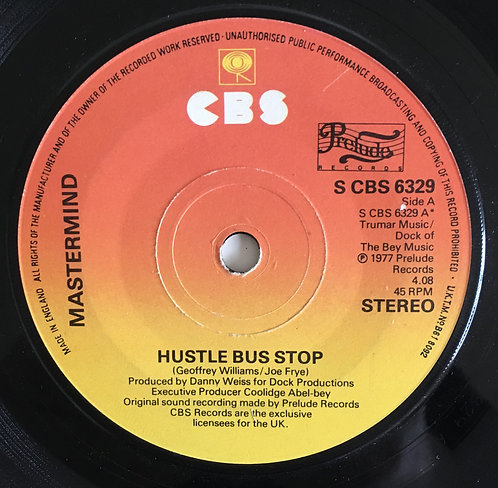 Mastermind 'Hustle Bus Stop'