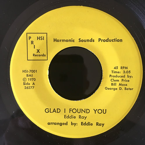 Eddie Ray  'Glad I Found You'