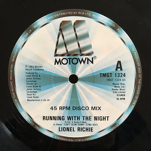 Lionel Richie 'Running With The Night'