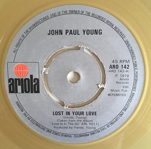 John Paul Young 'Lost In Your Love'