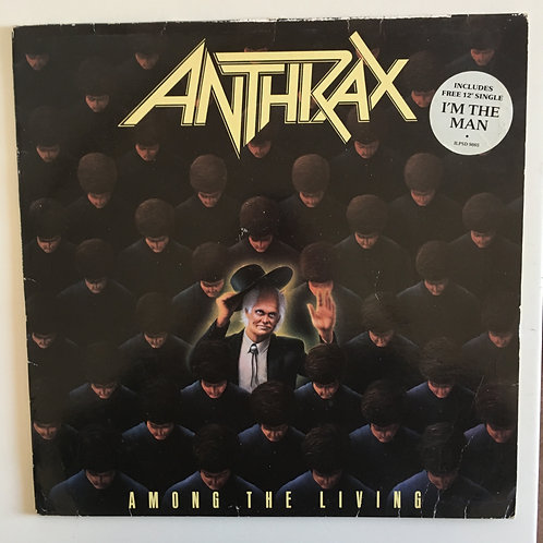 Anthrax 'Among The Living' + 'I'm The Man' 12""