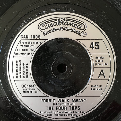 The Four Tops 'Don't Walk Away'