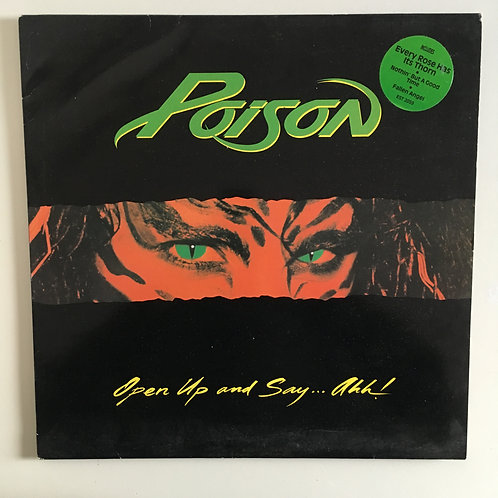 Poison 'Open Up & Say Ahh!'