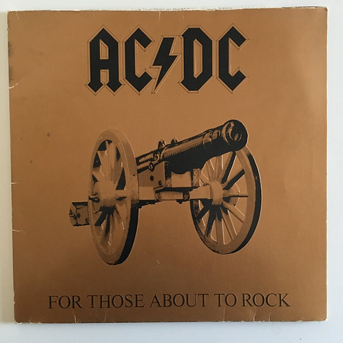 AC/DC 'For Those About To Rock'