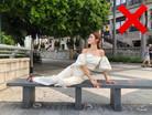 不要盲目追求長腿效果而忽略照片的時尚感!這些擺pose錯誤你犯了嗎