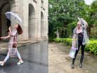 雨天穿搭全攻略,讓你雨天也很時尚