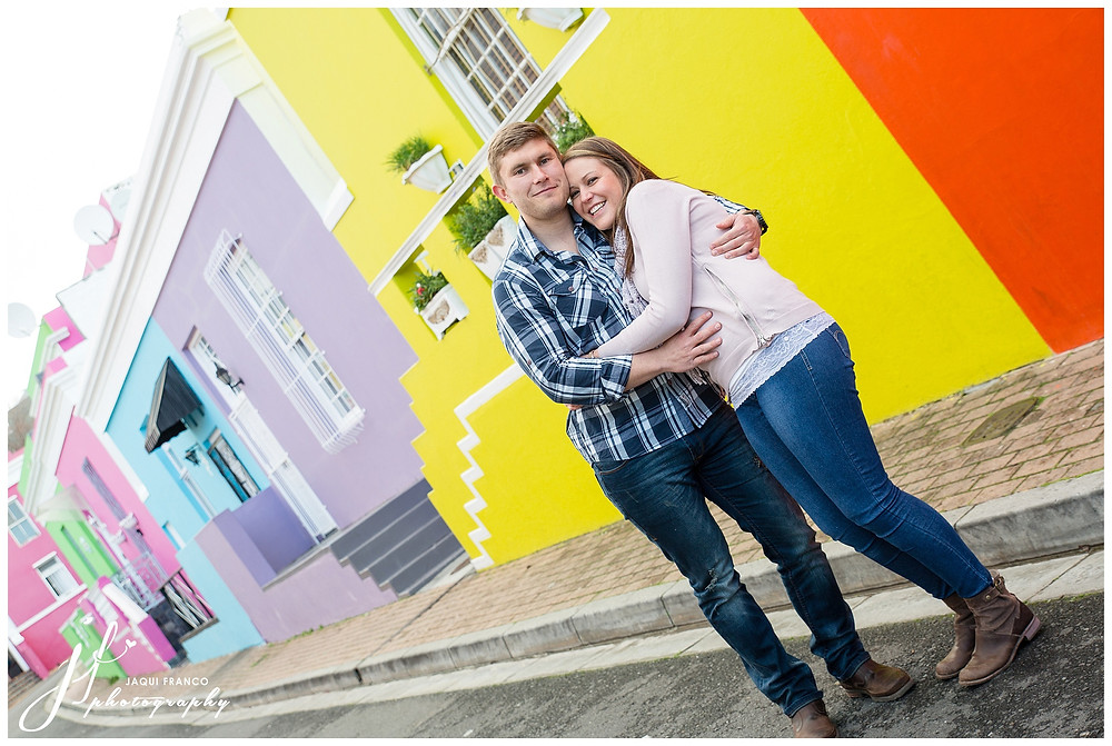 Bo Kaap Engagement Shoot by Jaqui Franco Photography Cape Town
