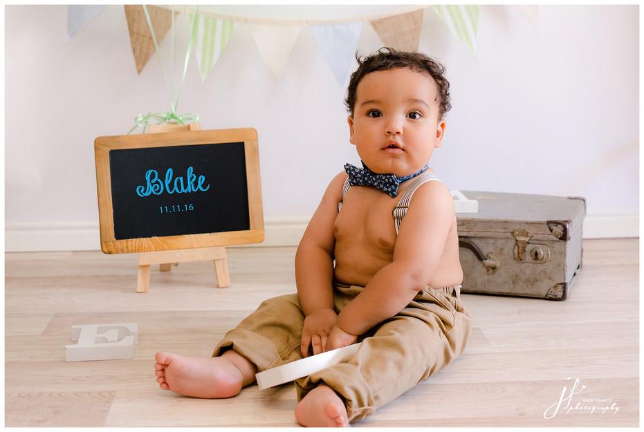Baby Blake turns one...