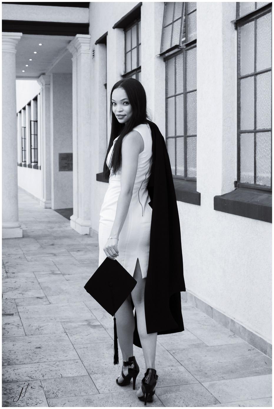 Brittaney in Black & White