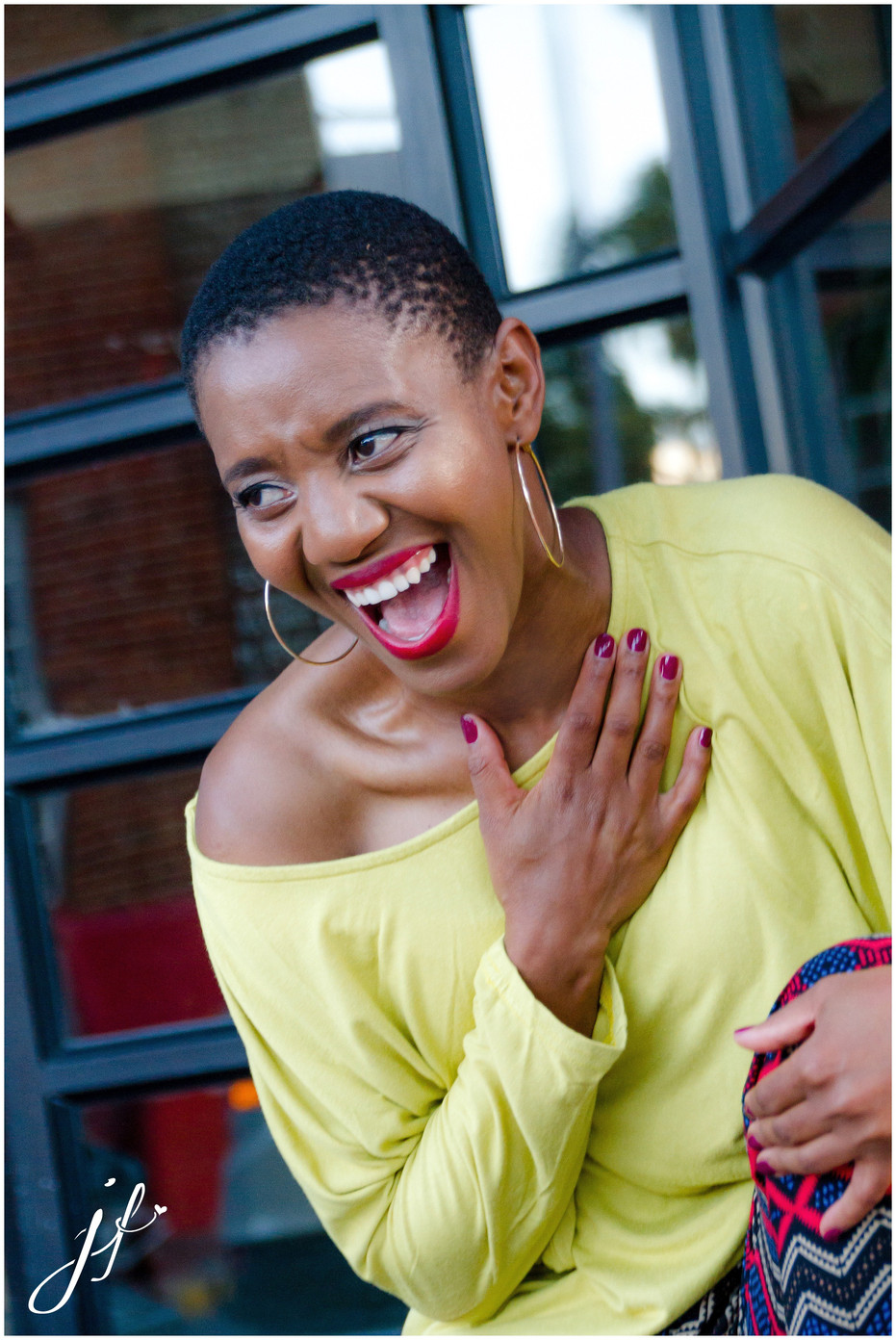 Bold, beautiful Buyiswa, the Engineer rocks a portrait shoot in Cape Town