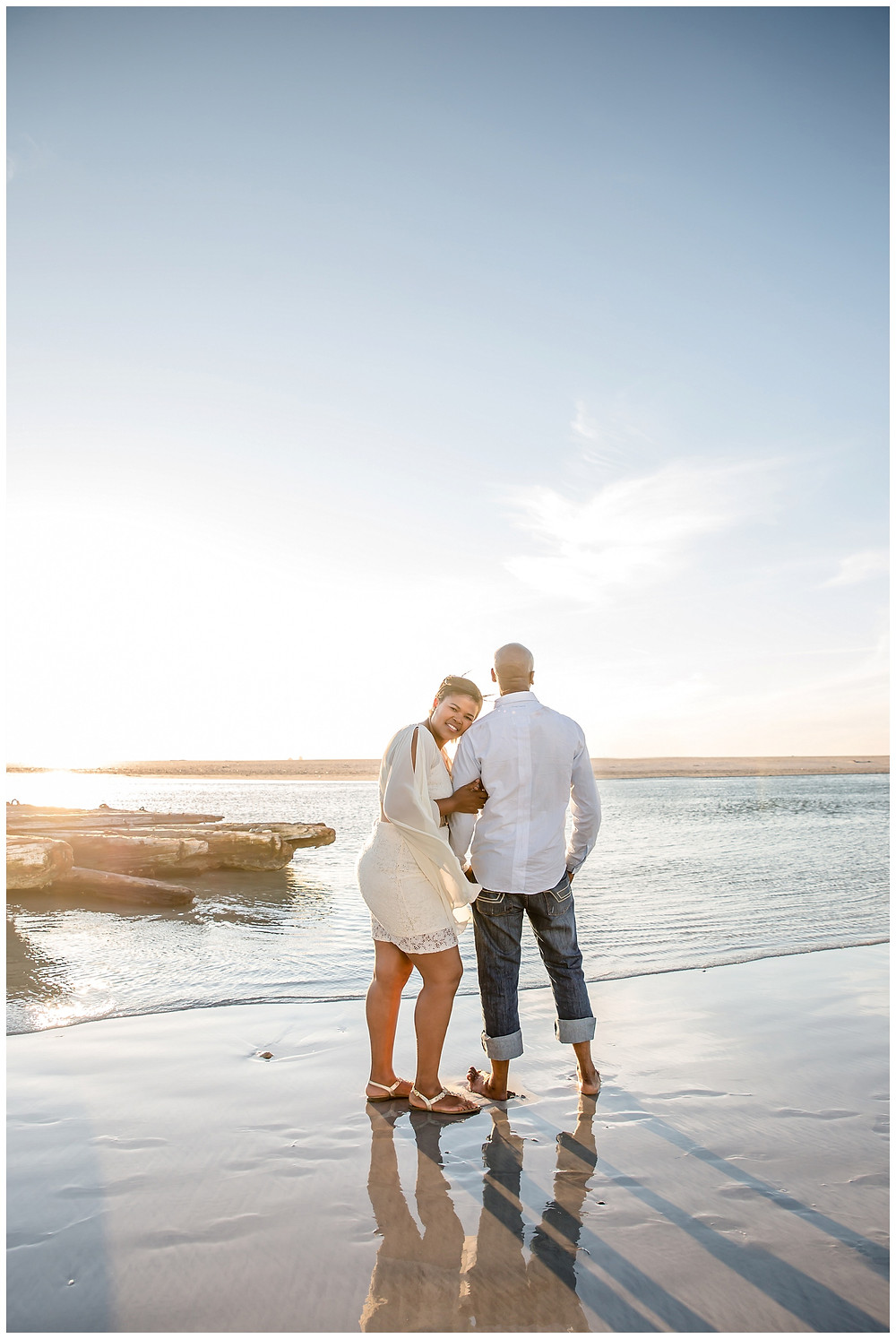 Engagement shoot at Lagoon beach by Jaqui Franco Photography Cape Town