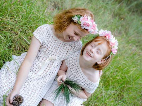 Forest fairies family shoot