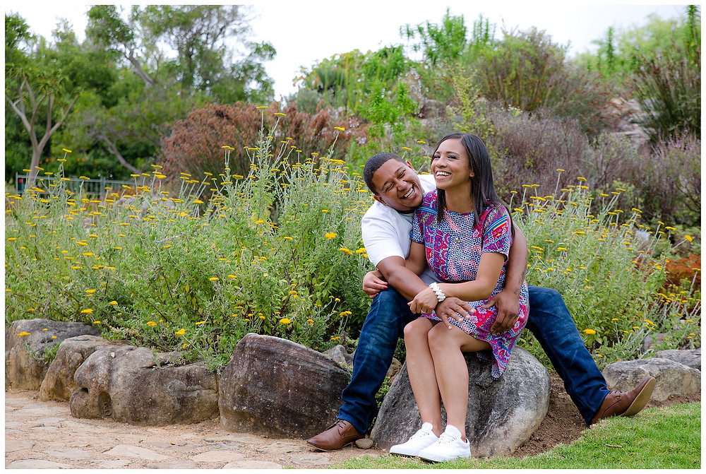 Engagement shoot at Kirstenbosch gardens by Jaqui Franco Photography