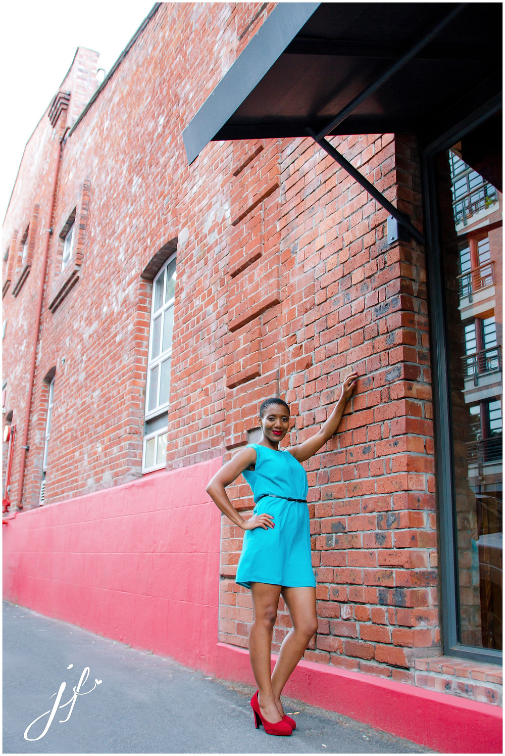 Beautiful Buyiswa photographed in Greenpoint by Jaqui Franco Photography
