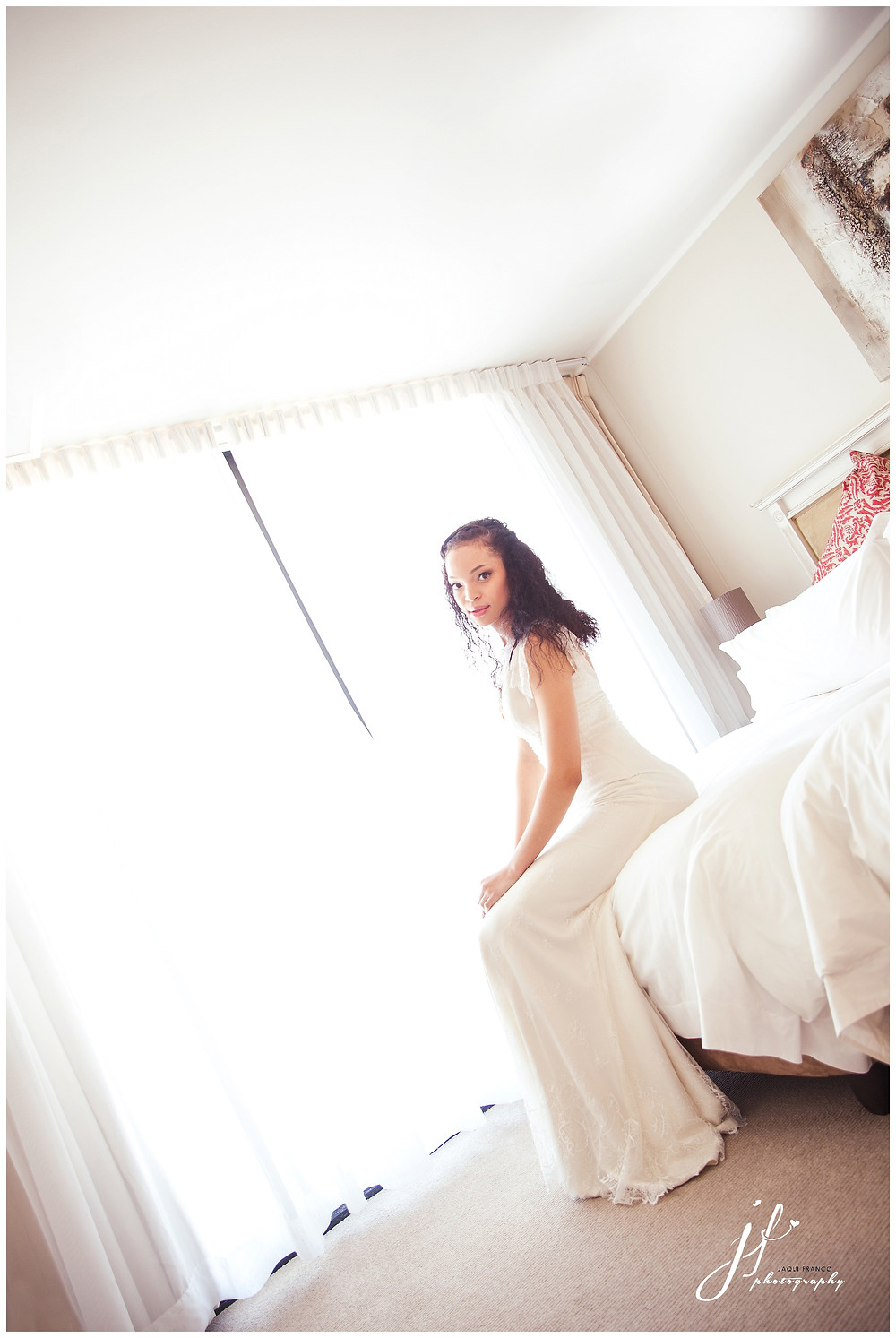 Bridal portrait at Rockwell Suites Hotel Cape Town