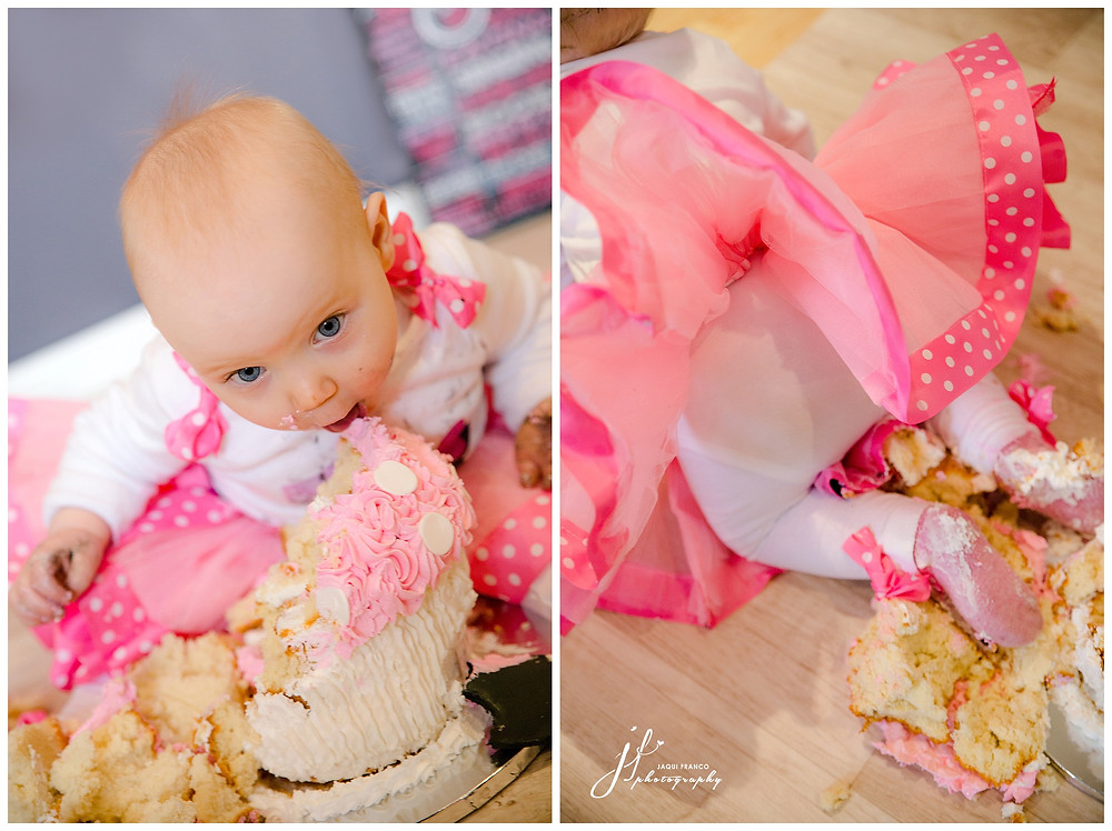 Minnie Mouse Cake Smash by Jaqui Franco Photography Cape Town