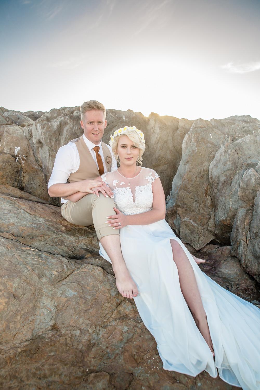 Bridal couple portraits