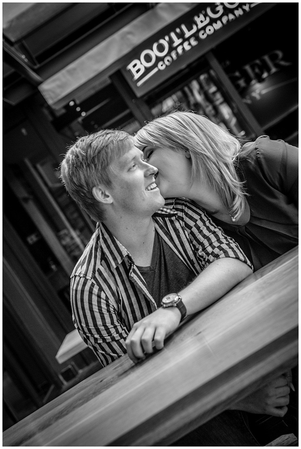 Engagement shoot in De Waterkant by Jaqui Franco Wedding Photography