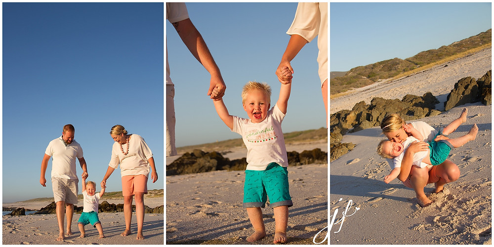 Jaqui Franco Photography family shoot in Blouberg, Cape Town