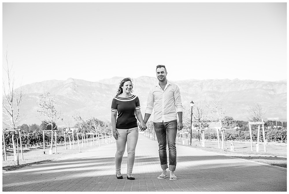 Engagement shoot at Marlenique Estate, Cape Town by Jaqui Franco Wedding Photography
