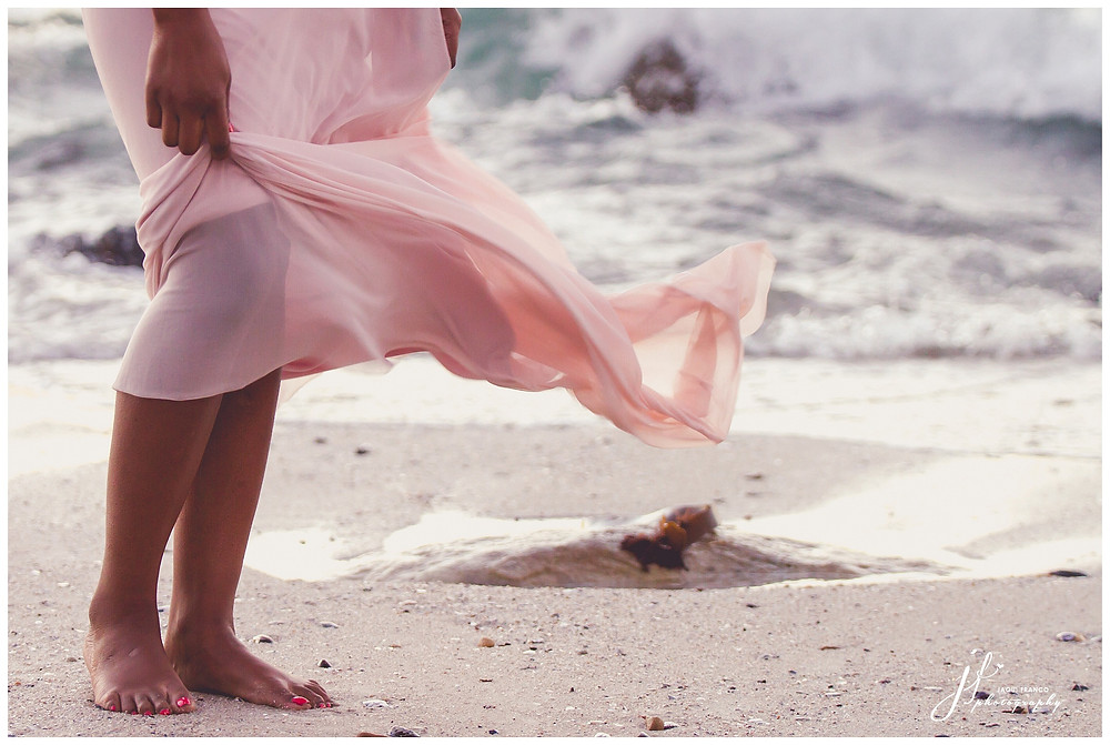 Beach wedding shoot by Jaqui Franco Photography