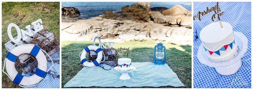 Cake Smash on Camps Bay Beach by Jaqui Franco Photography