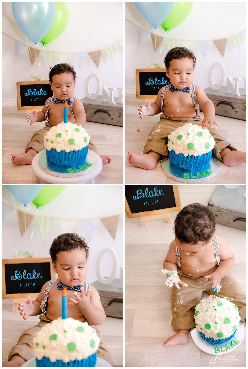 Cake Smash by Jaqui Franco Photography
