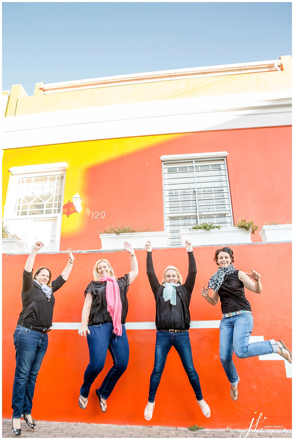 Friends shoot in Bo Kaap, Cape Town by Jaqui Franco Photography