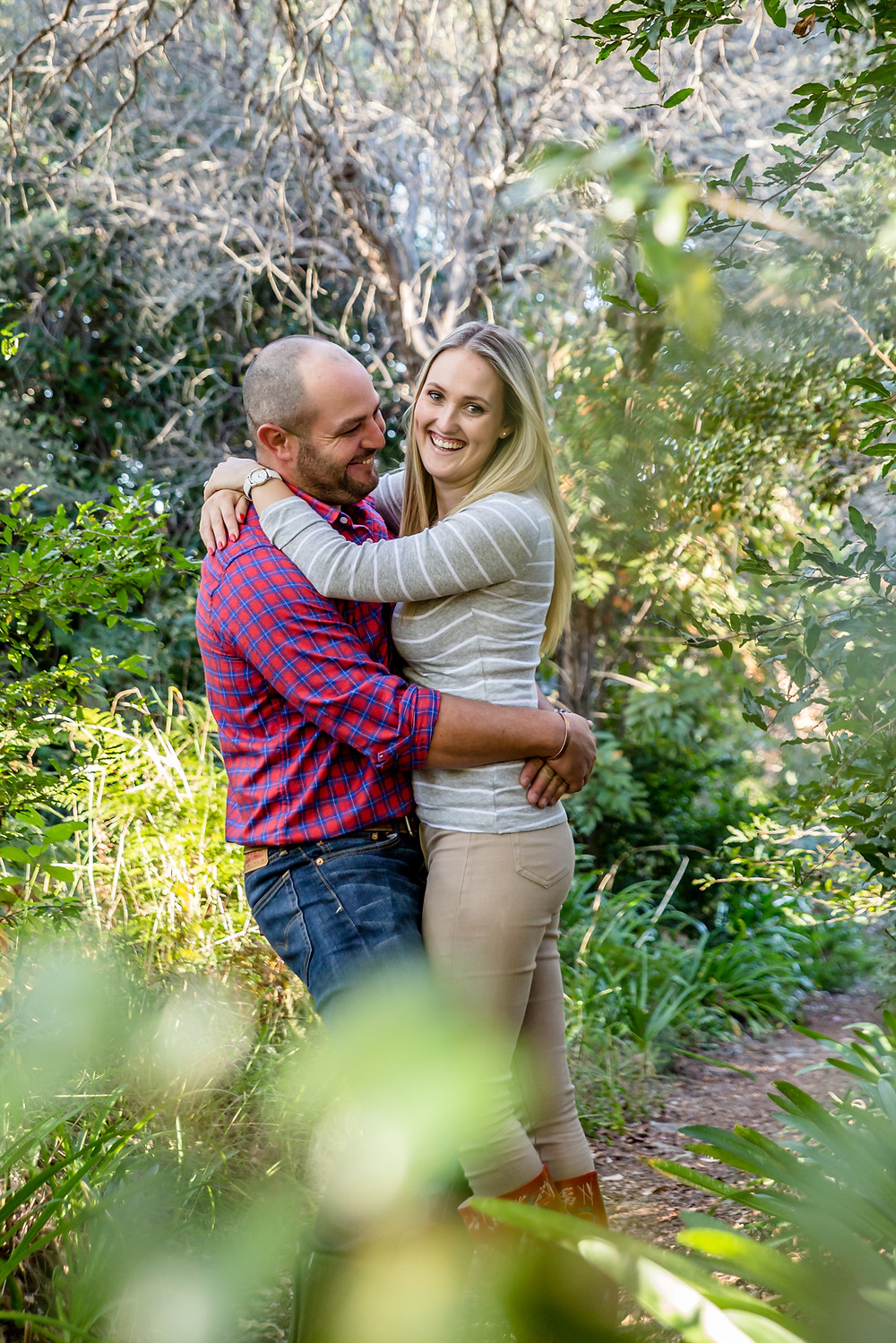 Engagement shoot at Jan Phillips Bergpad by Jaqui Franco Photography