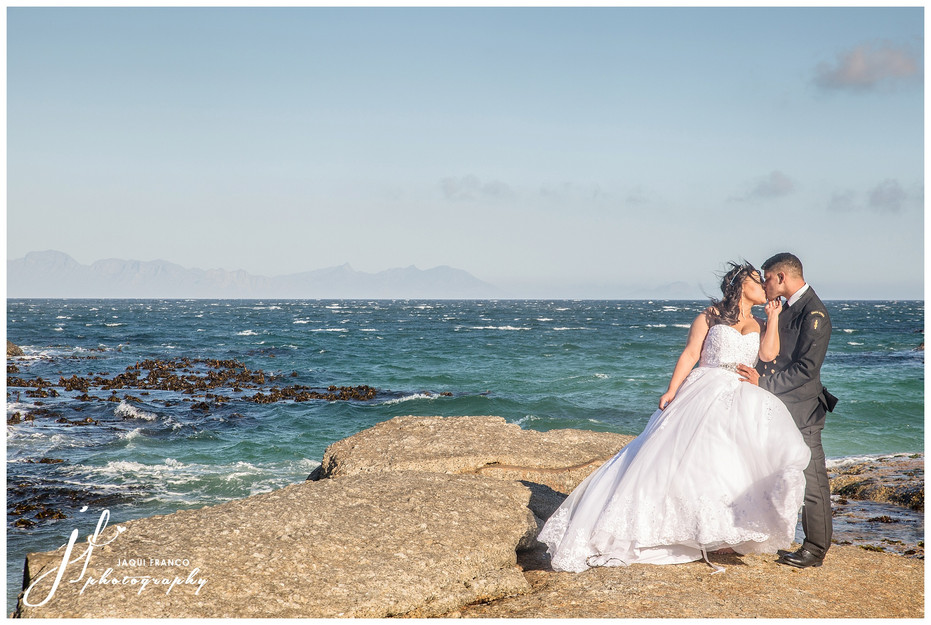 A very windy day for a wedding....
