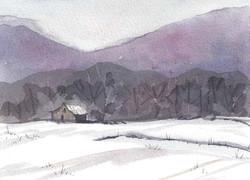 Glen Ayre Fields in Winter