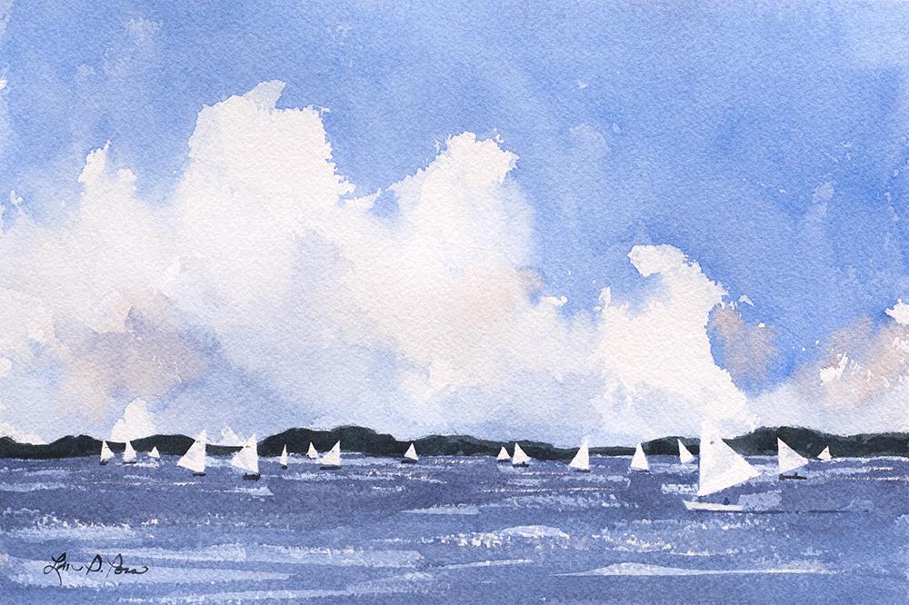 Sailing Under Big Clouds