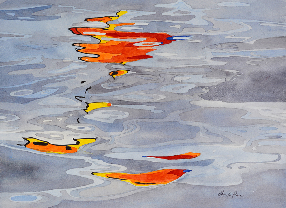 Sunfish Reflections