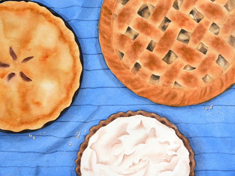 Pie, Plain and Simple